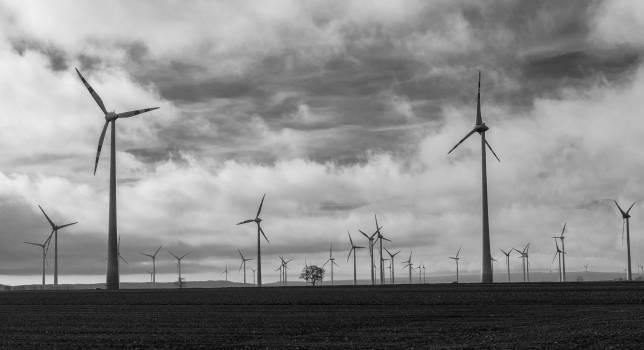 Turbine Electricity Power Free Photo