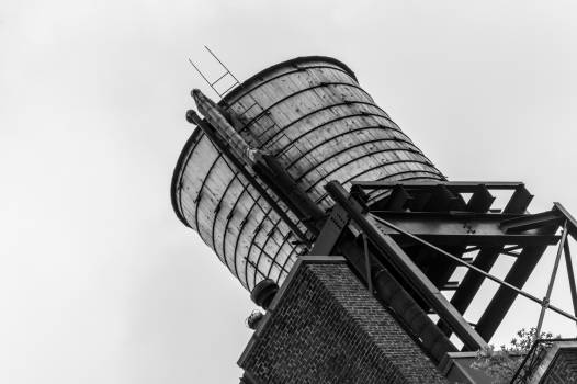 silo industrial black and white #24842