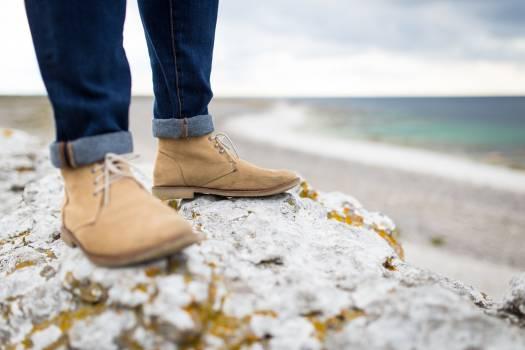 shoes jeans fashion Free Photo