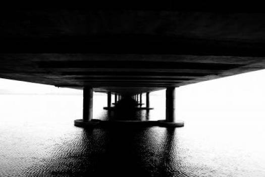 bridge ocean sea #24953
