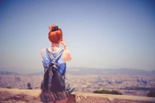 girl woman red head #24960