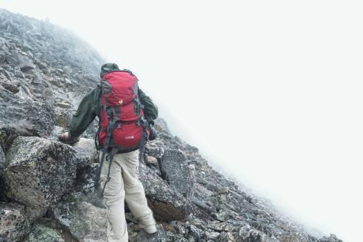 hiking climbing fitness Free Photo