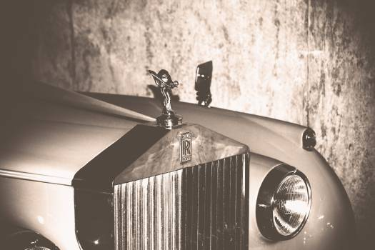 Rolls Royce luxury car Free Photo