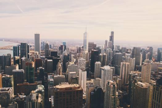 Manhattan City Skyline #250558