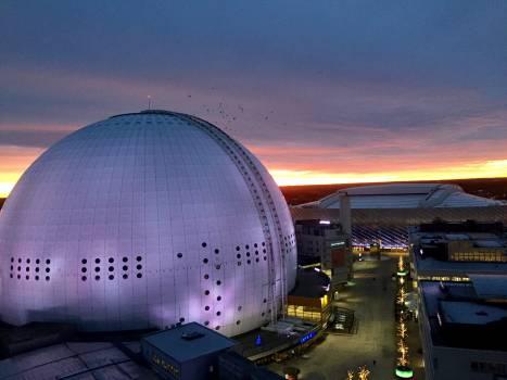 Planetarium Building Structure Free Photo