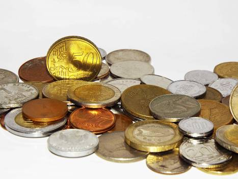 Money Coins Currency Free Photo