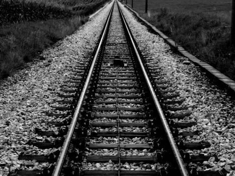 train tracks railroad railway #25124