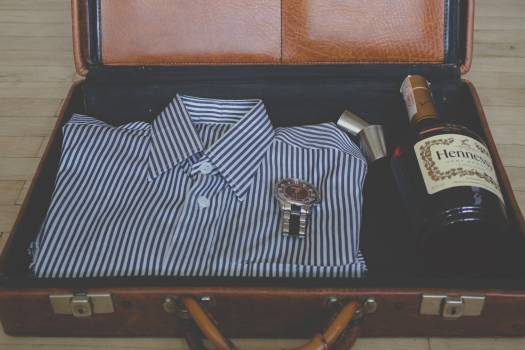 suitcase shirt clothes #25130