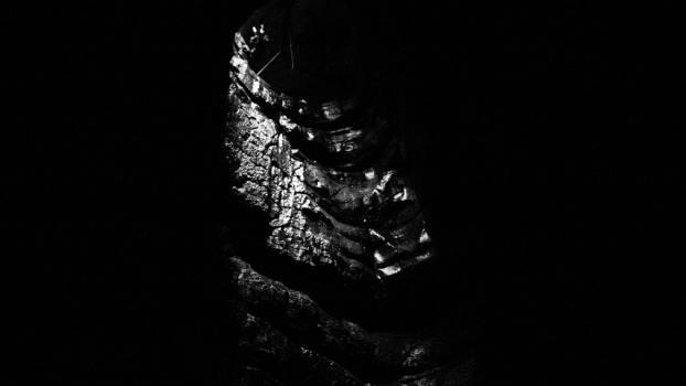Black Dark Light Free Photo