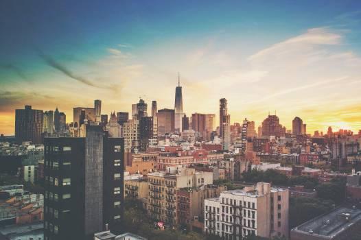 Manhattan City Cityscape #251910