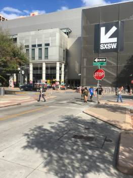 Intersection Street Sidewalk #252778