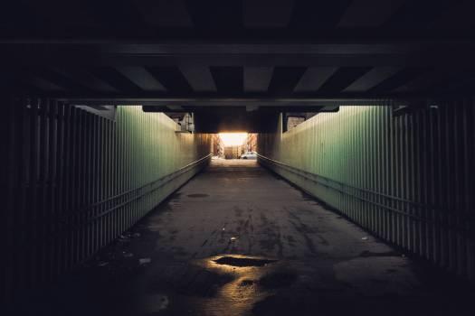 Horizontal surface Tunnel Transportation #253486