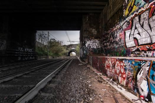 Track Railroad Train Free Photo