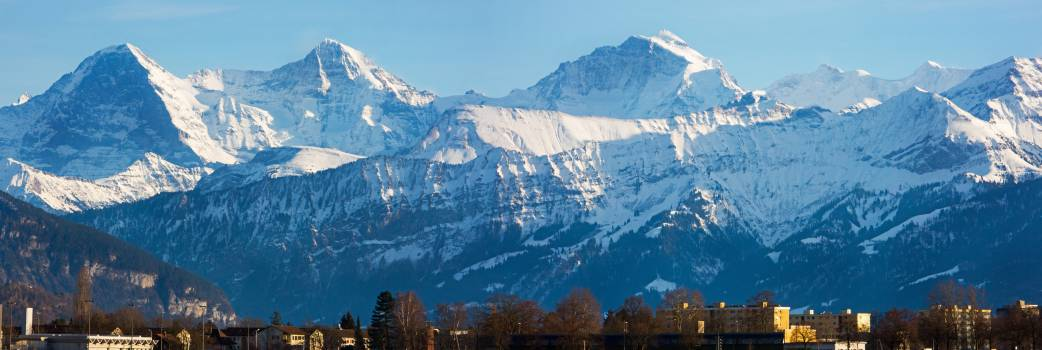 Berner Oberland Panorama #25531