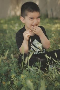 Child Grass Happiness Free Photo