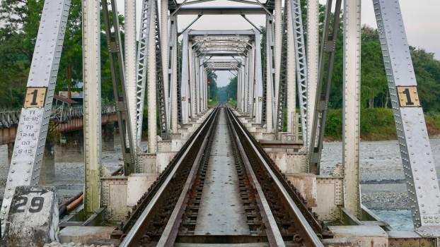 Track Transportation Railway Free Photo