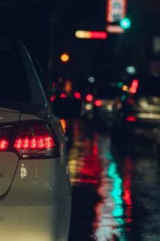 raining night Free Photo