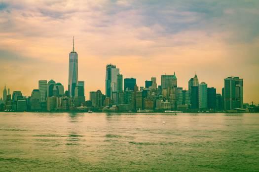 Manhattan City Skyline #257625