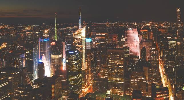 City Manhattan Cityscape #257973