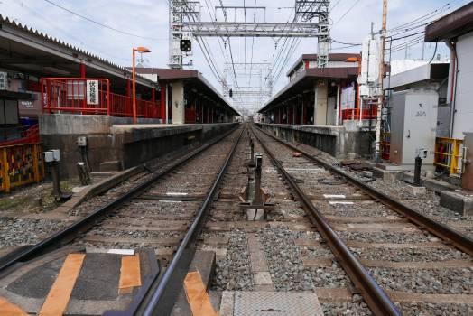 Track Train Railroad Free Photo