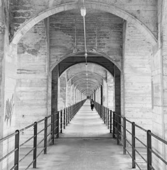 Arch Prison Architecture Free Photo