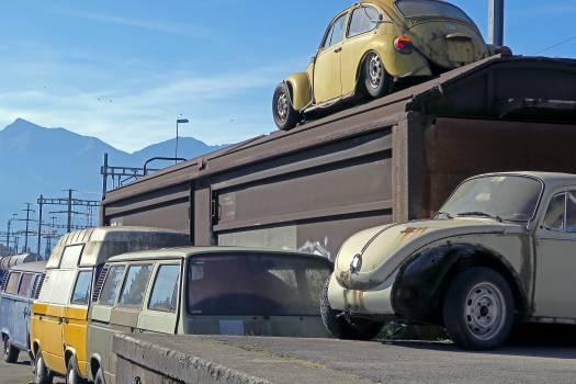 VW graveyard. Free Photo
