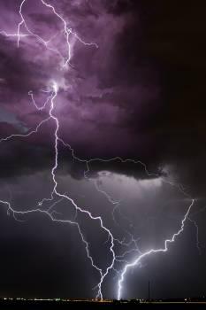 Lightning Light Night Free Photo