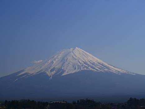 Mountain Natural elevation Volcano #261305