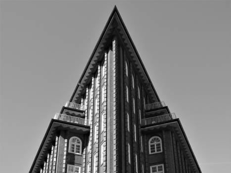 Skyscraper Triangle Building #261370