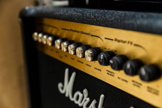 Marshall amp Free Photo