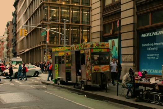 Streetcar Street Wheeled vehicle Free Photo