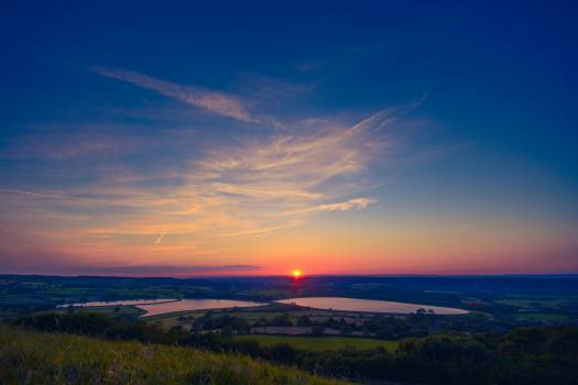 Sunset from Dundry Hill #26249
