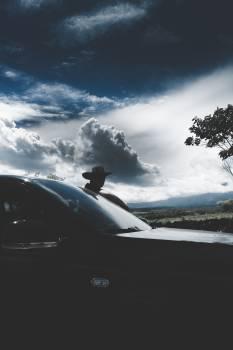 Sky Windshield Landscape Free Photo