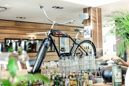 Bike on the bar #26304