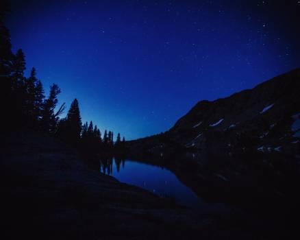 Star Celestial body Mountain #263932