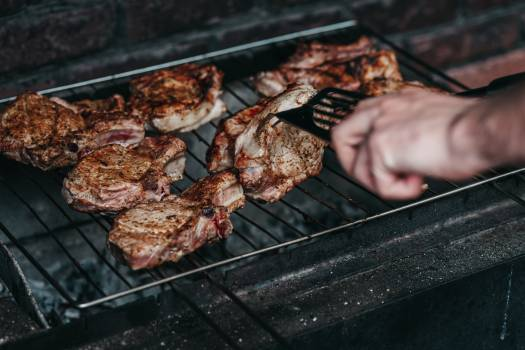 Barbecue Meat Grill Free Photo