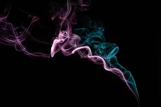 Smoke Mystic Curve Free Photo