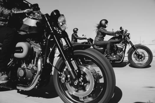 Pillion Motorcycle Motor Free Photo