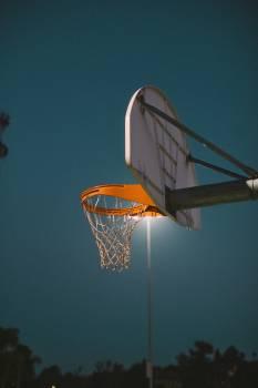 Backboard Equipment Basket Free Photo