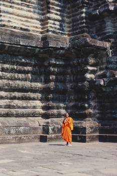 Temple Monk Ancient Free Photo