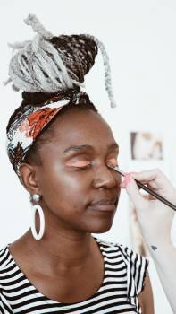 Salon Face Portrait Free Photo