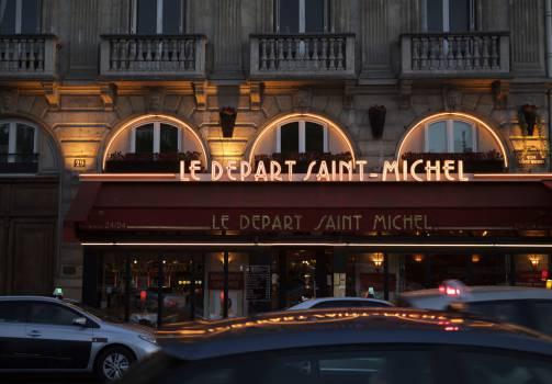 Le Depart Saint-Michel Free Photo