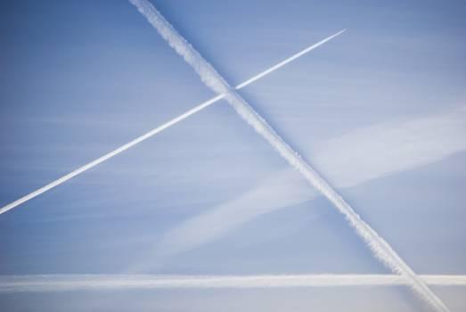 Sky geometry Free Photo