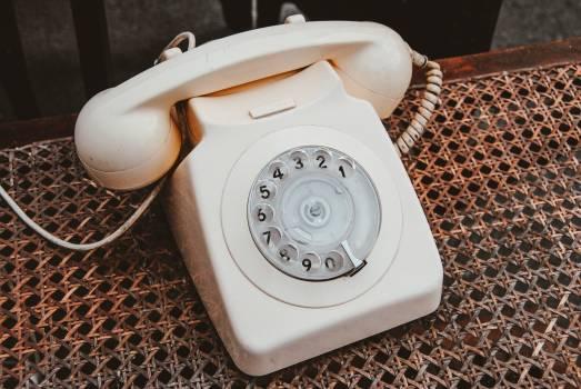 Dial telephone Dial Telephone Free Photo