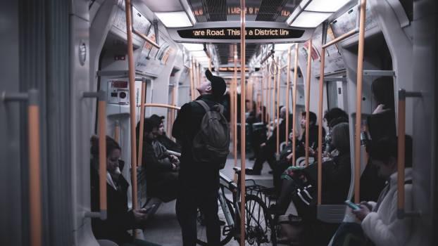 Passenger Train Subway train #270682