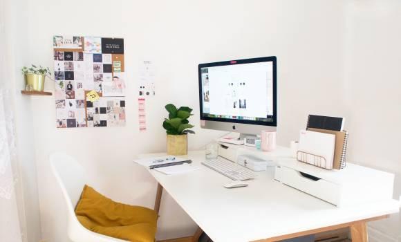 Desk Table Furniture Free Photo