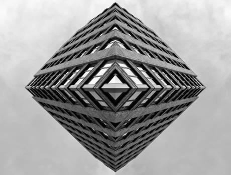Pyramid Wicker Cone Free Photo