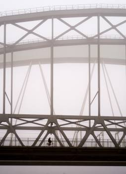 Foggy bridge #27201