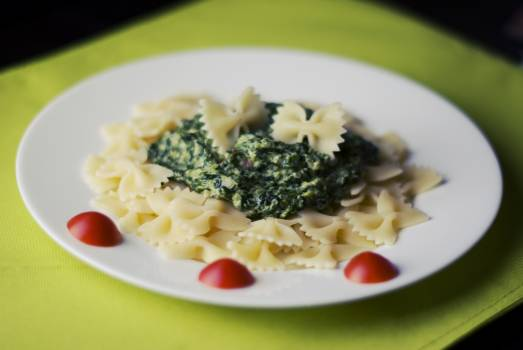 pasta with spinach #27269