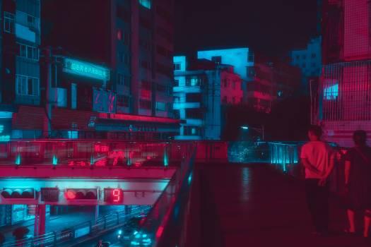Night Center City Free Photo